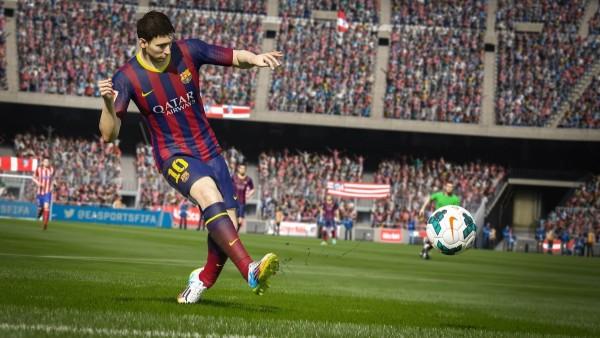 messi en FIFA 15