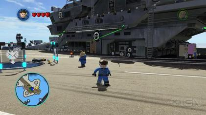 lego marvel gameplay