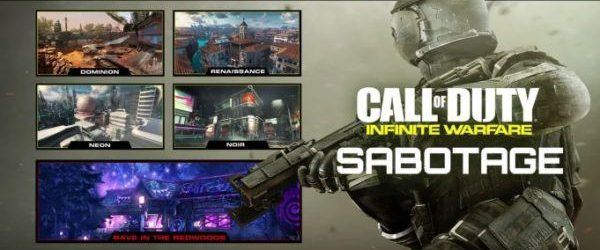 Descargable 1º Infinite Warfare: Sabotage ya disponible PS4